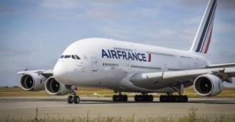 Air France-ի օդանավը հարկադիր վայրէջք է կատարել