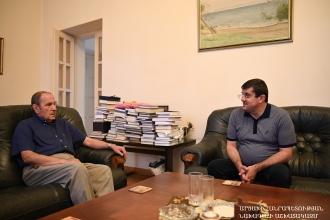 Արցախի նախագահն այցելել է ՀՀ Առաջին նախագահին