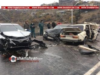 Խոշոր, շղթայական ու ողբերգական ավտովթար Երևանում