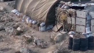 Արցախի ԱԱԾ-ն բացառիկ տեսանյութ է հրապարակել, թե ինչպես է երեկ ադրբեջանցի վիժվածքը կրակում (տեսանյութ)