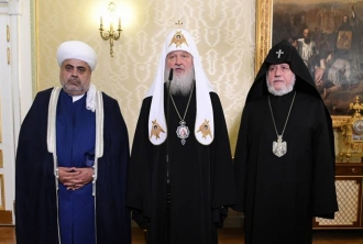 Մոսկվայում հանդիպել են Հայաստանի, Ռուսաստանի և Ադրբեջանի հոգևոր առաջնորդները