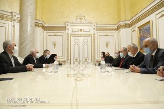 Տարածաշրջանի կայունությունն ու խաղաղությունը մեր ընդհանուր հետաքրքրությունների տիրույթում է. վարչապետն ընդունել է Իրանի ԱԳ նախարարին