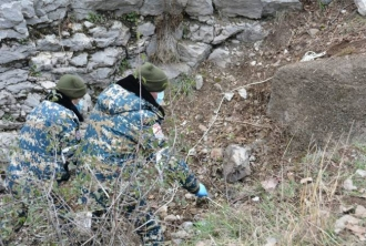 Արցախի փրկարարները Հադրութի շրջանում հայտնաբերել են 2 հայ զինծառայողի աճյուն