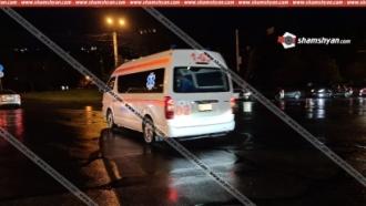 Երևանում վրաերթի են ենթարկել ոստիկանության շտաբի պետի տեղակալին