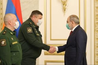 Նիկոլ Փաշինյանը հանդիպել է Ռուսաստանի ԳՇ պետի տեղակալին