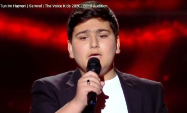Ֆրանսիայի մանկական «The Voice»-ում Սամվելը երգել է «Տուն իմ հայրենի» երգը (տեսանյութ)